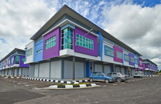 Double Storey Block 6 Shoplot